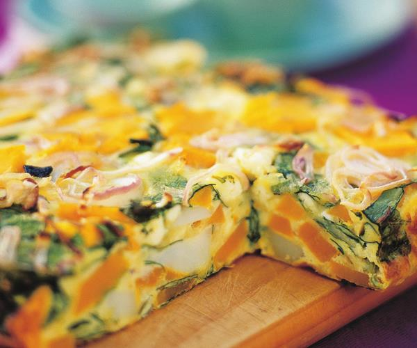 Pumpkin Spinach And Fetta Frittata Recipe Food To Love