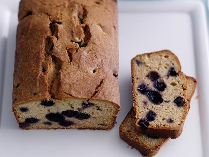"""**[Blueberry yoghurt loaf](https://www.womensweeklyfood.com.au/recipes/blueberry-yoghurt-loaf-14020