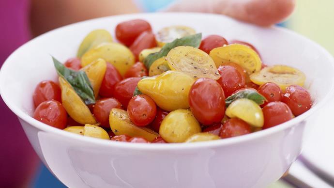 Two-tomato salad
