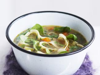 vegetable &pasta soup