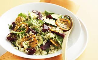vegetable & couscous salad