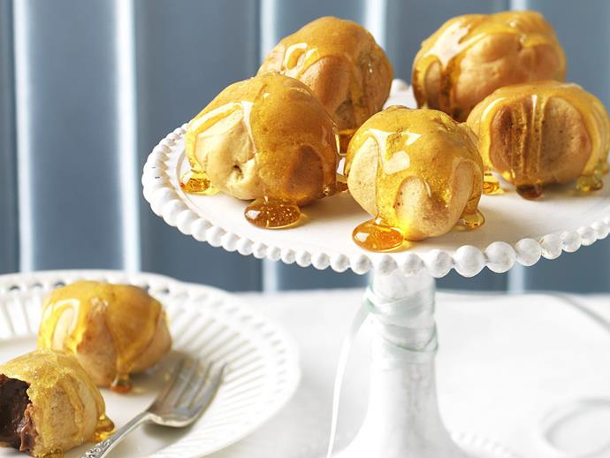 "**[Mocha puffs](https://www.womensweeklyfood.com.au/recipes/mocha-puffs-5633|target=""_blank""