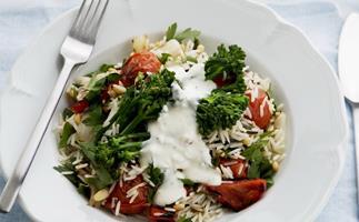 greek-style wild rice salad