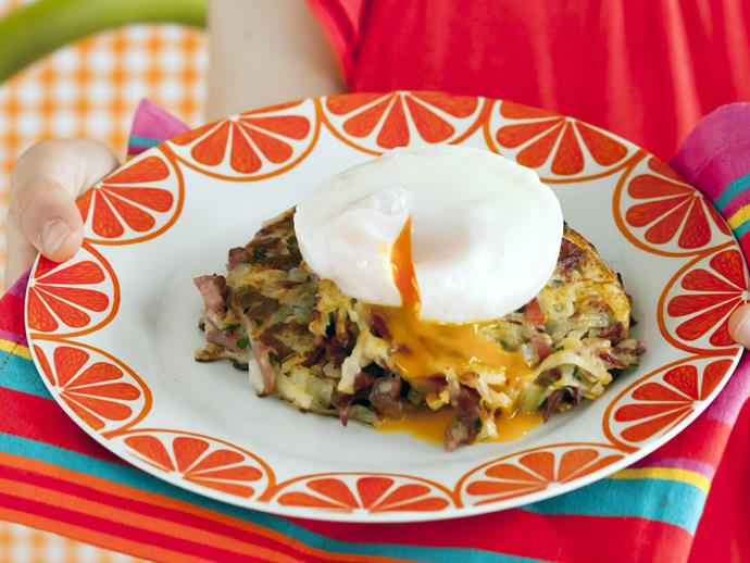 "**[Corned beef hash with poached eggs](https://www.womensweeklyfood.com.au/recipes/corned-beef-hash-with-poached-eggs-13535|target=""_blank"")**  A classic in the thrifty housekeeping repertoire, corned beef hash is as delicious as it is economical, especially topped with a soft-poached egg."