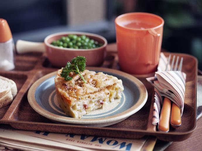 "**[Macaroni cheese](https://www.womensweeklyfood.com.au/recipes/macaroni-cheese-5515|target=""_blank"")**"