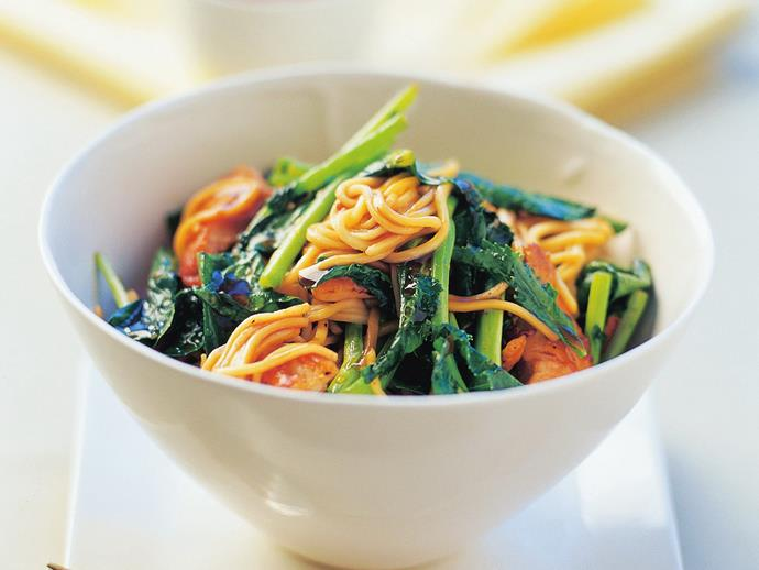 "**[Chicken and chinese broccoli stir-fry](http://www.foodtolove.com.au/recipes/chicken-and-chinese-broccoli-stir-fry-20544|target=""_blank""):** Stir-fries are a staple of Chinese cuisine and this quick and easy dish is packed full of the traditional flavours we've come to know and love."