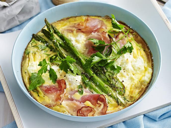 "**[Breakfast frittata](https://www.womensweeklyfood.com.au/recipes/breakfast-frittata-13104|target=""_blank"")**  There is nothing much more satisfying for breakfast or brunch (or lunch, or dinner!) than a colourful frittata served with hot buttered toast."