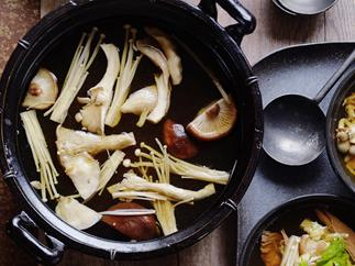 braised beef in chinese ginger broth