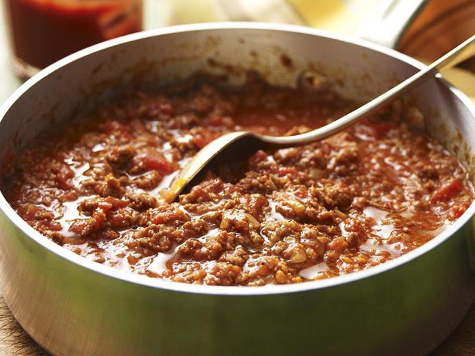 "**[Savoury mince](https://www.womensweeklyfood.com.au/recipes/savoury-mince-13241|target=""_blank"")**  The base of so many traditional family meals, savoury mince can be dished up with pasta, on baked potatoes or with noodles on the side."
