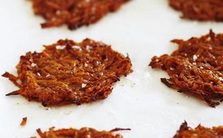 baked kumara and cinnamon rösti