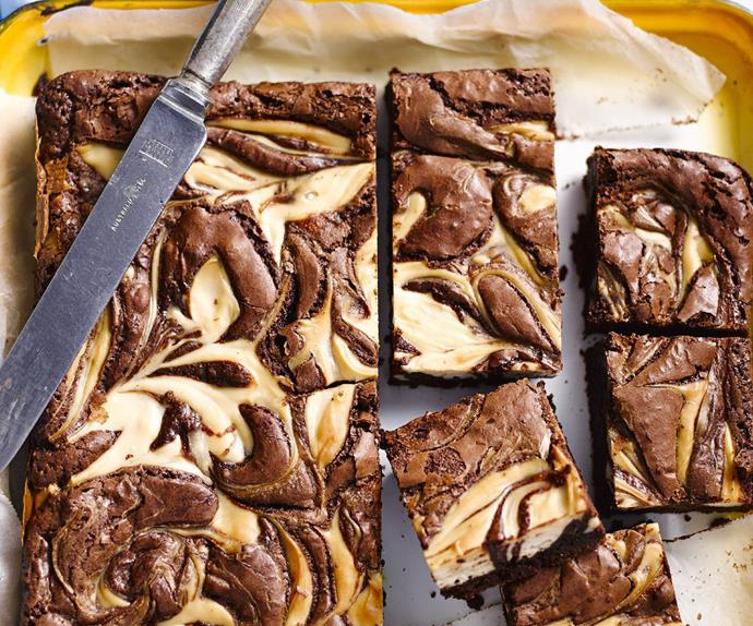 gluten-free chocolate cheesecake brownie