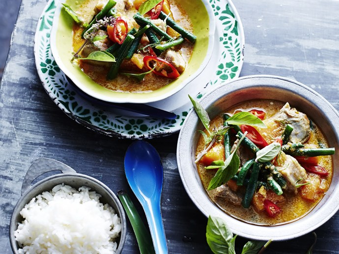 SLOW-COOKER RED PORK CURRY