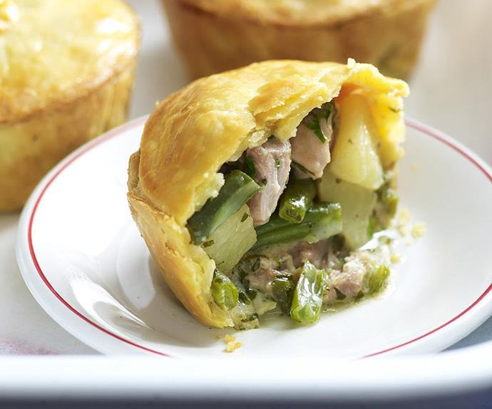 THAI GREEN CHICKEN CURRY PIES