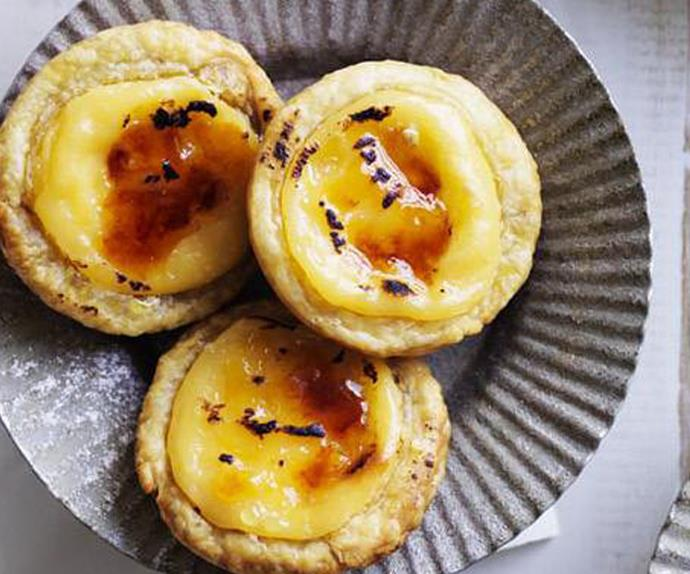 little portuguese tarts