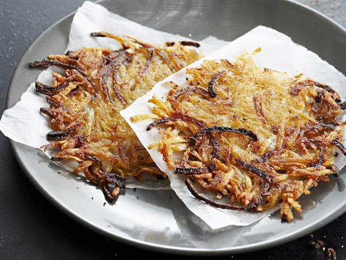 """**[Onion and potato hash](https://www.womensweeklyfood.com.au/recipes/onion-and-potato-hash-12854
