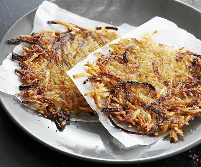 onion and potato hash