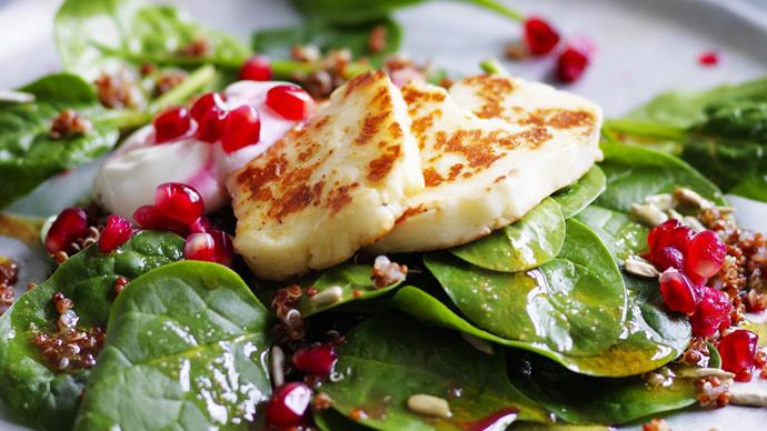 Vegetarian haloumi recipes