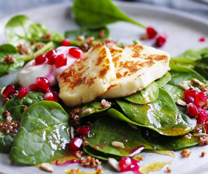 Vegetarian haloumi recipes