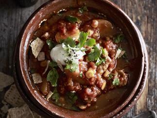 pork and chilli stew