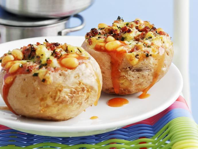 "Whether you're into [baked potatoes](https://www.womensweeklyfood.com.au/recipes/jacket-potatoes-with-baked-beans-12985|target=""_blank"") or prefer jacket sweet potatoes then the air fryer can help you out. Perfectly baked spuds, without the fat."