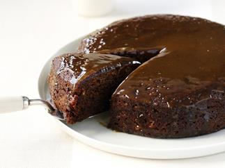 sticky date pudding with butterscotch sauce
