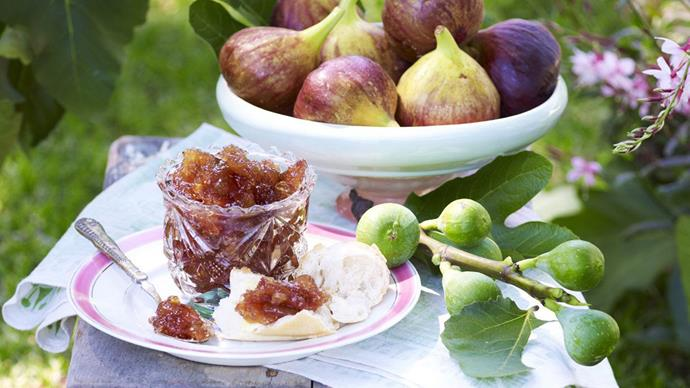 CHUNKY FIG AND VANILLA JAM