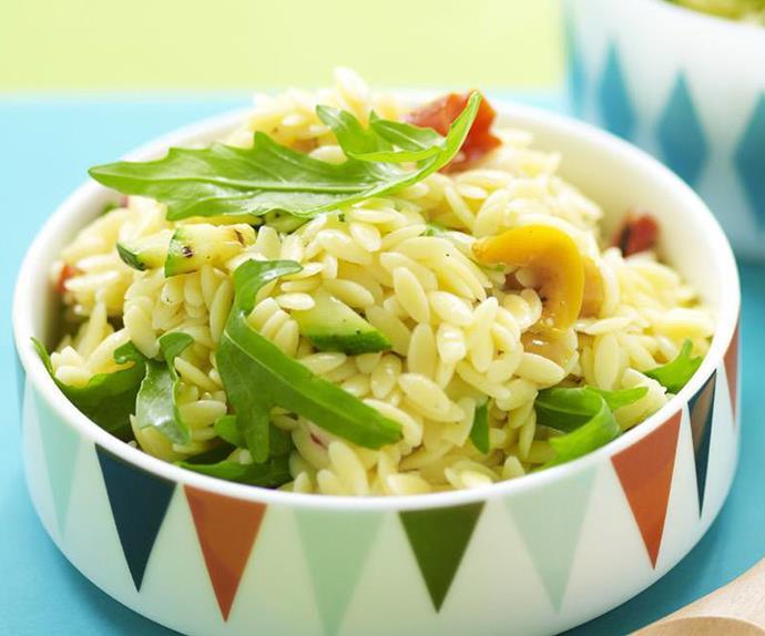 risoni and vegetable salad