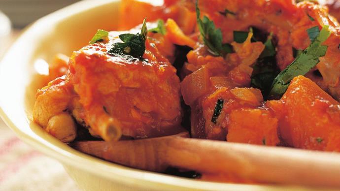 rabbit and tomato casserole