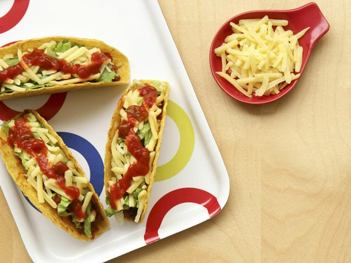 "**[Beef tacos](https://www.womensweeklyfood.com.au/recipes/beef-tacos-12408|target=""_blank"")**  This family favourite is delicious and so easy to make. Next time you have a gathering surprise your friends and loved ones with a Mexican taco platter and watch them disappear."