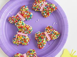 butterfly fairy bread