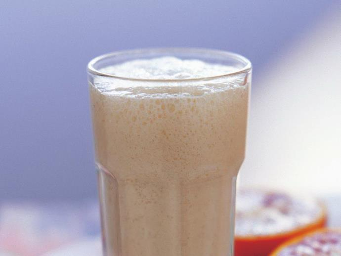 """Give your daily calcium and potassium intake a boost with this delicious [banana smoothie](https://www.womensweeklyfood.com.au/recipes/banana-smoothie-1-16532