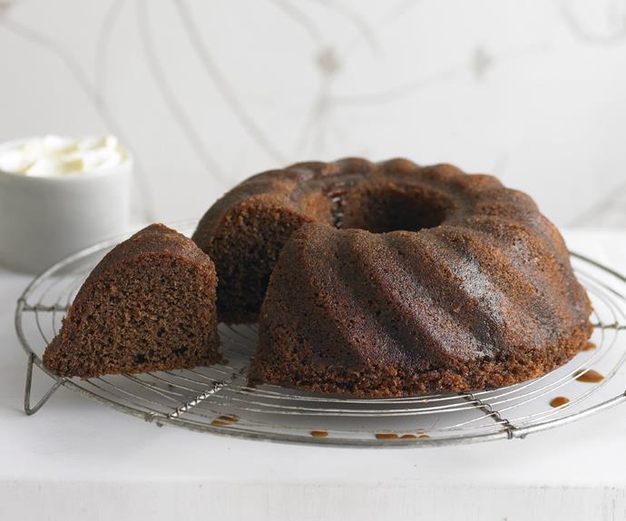 espresso syrup cake