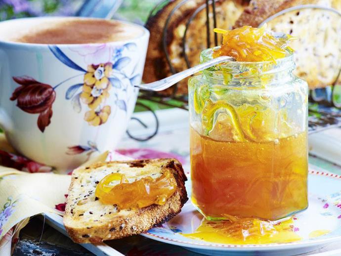 "**[Orange, coriander and ginger marmalade](https://www.womensweeklyfood.com.au/recipes/orange-coriander-and-ginger-marmalade-12531|target=""_blank"")**"