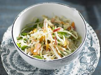 apple slaw with buttermilk dressing