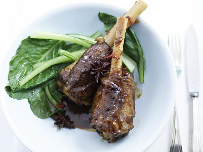 "**[Slow-cooked thai lamb shanks](https://www.womensweeklyfood.com.au/recipes/slow-cooked-thai-lamb-shanks-5231|target=""_blank"")**"