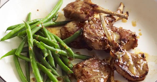 lamb chops recipe honey mustard Honey mustard lamb cutlets