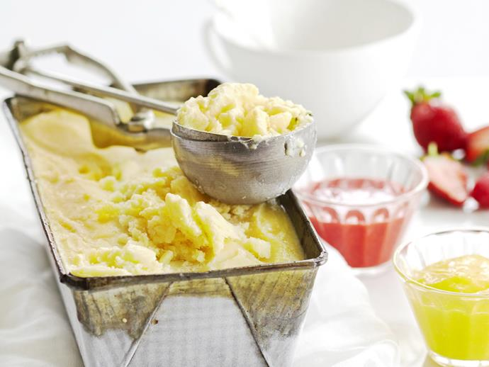 """**[Vanilla tofu ice-cream with mango and berry coulis](https://www.womensweeklyfood.com.au/recipes/vanilla-tofu-ice-cream-with-mango-and-berry-coulis-12296