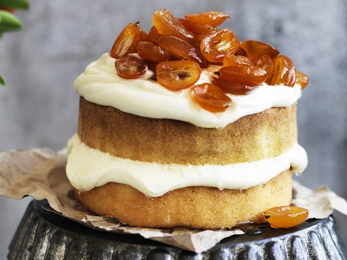 "Try your hand at candied citrus with this [orange pound cake with candied cumquats](http://www.foodtolove.com.au/recipes/orange-pound-cake-with-candied-cumquats-28776|target=""_blank"") recipe."