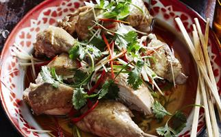 SLOW-COOKERCHICKEN WITH SOY & SESAME