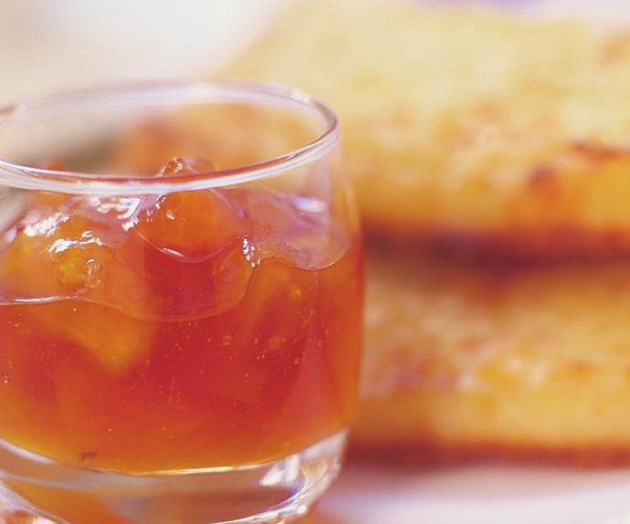 pawpaw and pineapple jam
