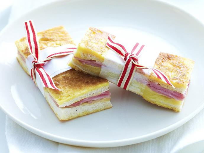 """**[Gruyère and smoked ham french toasties](https://www.womensweeklyfood.com.au/recipes/gruyere-and-smoked-ham-french-toasties-4971