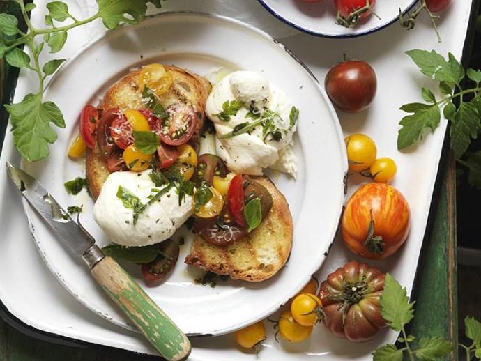 "[Tomato bruschetta](https://www.womensweeklyfood.com.au/recipes/tomato-bruschetta-11940|target=""_blank"") is obviously required on any menu."
