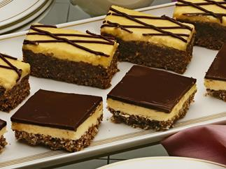 NANAIMO BARS This is a treat from Western Canada.