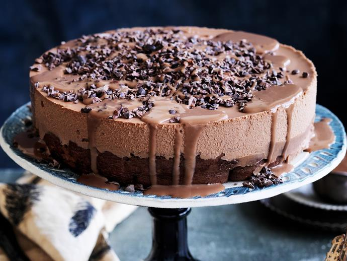 "**[Chocolate orange mousse cake](https://www.womensweeklyfood.com.au/recipes/chocolate-orange-mousse-cake-11616|target=""_blank"")**  With a texture this silky and a flavour this heavenly, you'll not be able to resist a second helping of this decadent chocolate orange mousse cake. It really is that good."