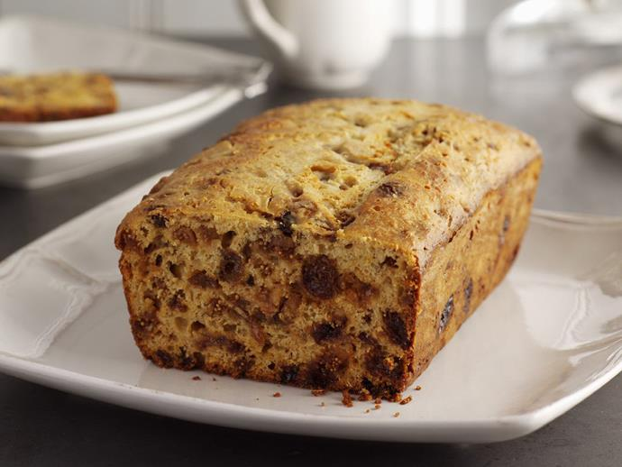 """**[Yogurt fruit loaf](https://www.womensweeklyfood.com.au/recipes/yogurt-fruit-loaf-11219