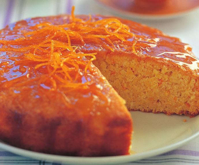 whole tangelo cake