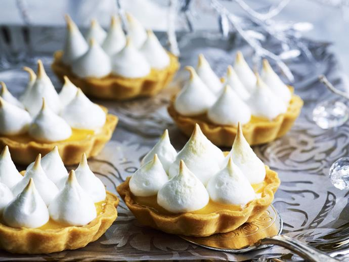 "**[Ruby grapefruit meringue pies](https://www.womensweeklyfood.com.au/recipes/ruby-grapefruit-meringue-pies-11318|target=""_blank"")**  We've given a grapefruit flavour to the classic lemon meringue pie here, but you could experiment with any citrus fruit, or a combination of."
