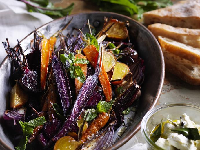 "**[Beetroot and heirloom carrot salad with persian fetta](https://www.womensweeklyfood.com.au/recipes/beetroot-and-heirloom-carrot-salad-with-persian-fetta-11328|target=""_blank"")** Colourful heirloom carrots taste and look fantastic in this stunning salad."