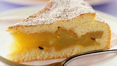 Apple ginger shortcake