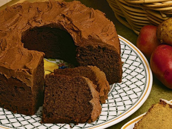 "Sometimes the strangest ingredients make the best cakes! The addition of mashed potato makes a [chocolate cake](https://www.womensweeklyfood.com.au/recipes/potato-chocolate-cake-4532|target=""_blank"") that is deliciously moist."